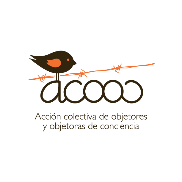 The ACOOC logo has barbed wire with a bird perched on top